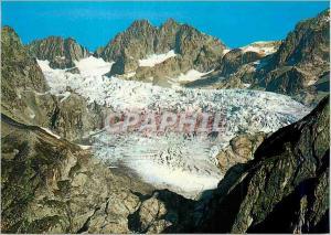 Moderne Karte Masif de l'Oisans Pic de Neige Cordier (3613m) et le Glacier Blanc