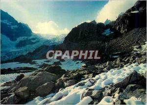 Moderne Karte l'Oisans Sauvage Hautes Alpes a l'Approche du Glacier Blanc