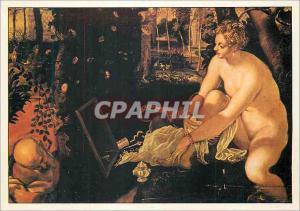 Moderne Karte Tintoret Jacopo Robusti dit Ne a Venise 1512 Mort a Venise 1594 Suzanne et les Vieillards