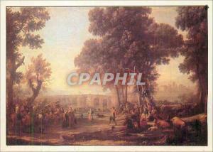 Moderne Karte Gellee Claude dit le Lorrain Ne a Chamagne pres de Mirecourt Mort a Rome la Fete Villageoise