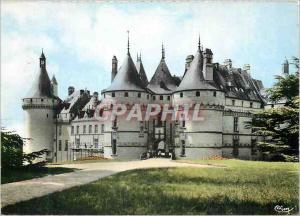 Moderne Karte Chaumont sur Loire (L et Ch) le Chateau En Touraine les Chateaux de la Loire Flamme Festival de
