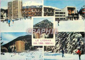 Moderne Karte Le Lioran (Alt 1200 1850m) Sports d'Hiver en Auvergne