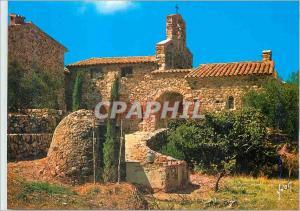 Moderne Karte La Cote d'Azur Chapelle Provencale Couleurs et Lumiere de France