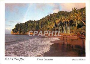 Moderne Karte Martinique L'Anse Couleuvre Le Pecheur