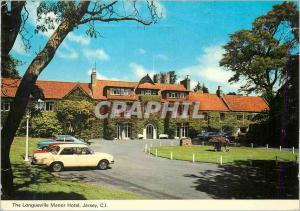 Moderne Karte Jersey CI The Longueville Manor Hotel