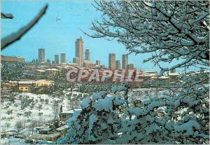 Moderne Karte Citta di S Gimignano Panorama