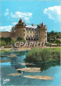 Moderne Karte St Porchaire (Chte Mme) Chateau de la Roche Courbon
