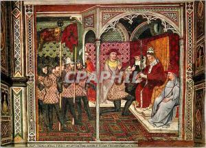 Moderne Karte Siena Palazzo Pubblico Spinello Aretino (1352 1410) Il Papa Alessandro III Consegna la Spada al