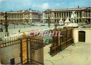 Moderne Karte Paris Couleurs et Lumiere de France Place de la Concorde Les Hotels de Gabriel Automobile