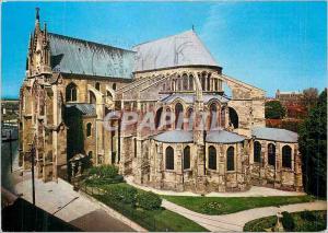 Moderne Karte Reims (Marne) L'Abside de la Basilique St Remi (XIe et XIIe Siecle)