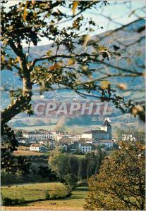 Moderne Karte Sare (Pyrenees Atlantiques) Un Village Basque Typique