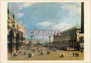 Moderne Karte Venice Patite Place St MarcGiovanni Antonio Canal detto il Canaletto (1697 1768)