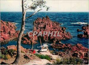 Moderne Karte Reflets de la Cote d'Azur La Petite Calanque
