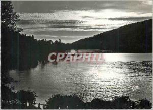 Moderne Karte Gerardmer Coucher de Soleil sur le Lac