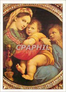 Moderne Karte Florence Palais Pitti Raphael Raffaello Santi ou Sanzio Ne a Urbino 1483 Mort a Rome 1520 la Vie