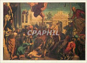 Moderne Karte Venise Gallerie Dell'Academia Tintoret Jacopo Robusti Ne a Venise 1518 Mort a Venise 1594 Saint