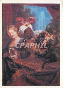 Moderne Karte Paris Musee du Louvre Coypel Antoine Ne a Paris 1661 Mort a Paris 1722 Jeune Noir a la Corbeille