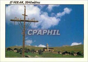 Moderne Karte St Veran 2040m Hautes Alpes Images de France la Plus Haute Commune d'Europe