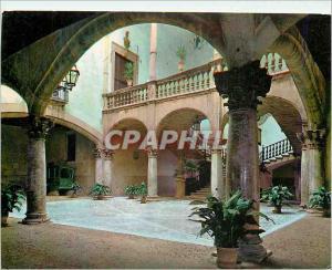Moderne Karte Palma de Mallorca Patio del Palacio Vivot
