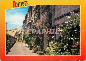 Ansichtskarte AK Antibes Reflets de la Cote d'Azur La rue du Haut Castelet