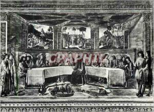 Moderne Karte Citta Del Vaticano Cappella Sistina Ultima Cena (Cosimo Rosselli)
