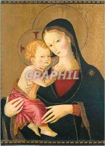Moderne Karte Vierge et Enfant Ecole Italienne