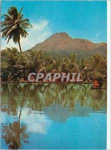 Moderne Karte Martinique Le Montagne Pelee vue du Parnasse