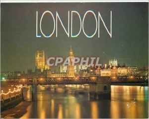 Moderne Karte The London Skyline by Night