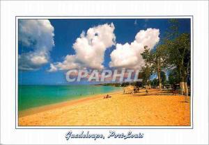 Moderne Karte Guadeloupe Port Louis