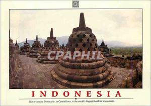 Moderne Karte Indonesia Ninth Century Borobudur in Central Java is the World's Largest Buddhist Monument