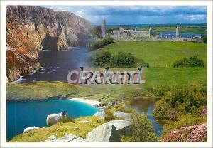 Moderne Karte Salutations d'Irlande