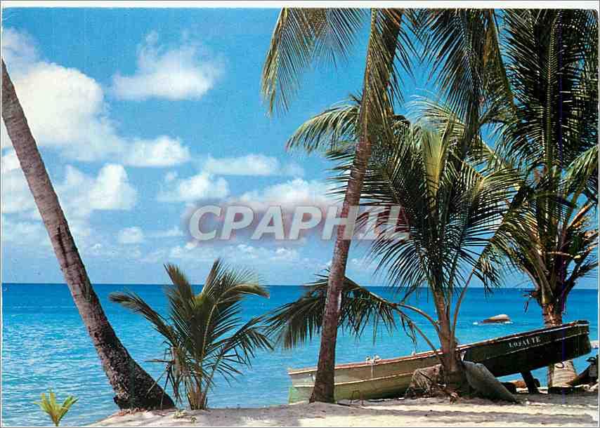 Moderne Karte Martinique FWI Anse d'Arlet Reve Caraibe 0