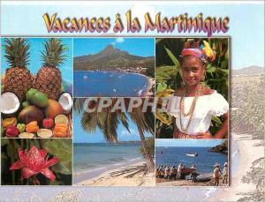 Moderne Karte Vacances a la Martinique