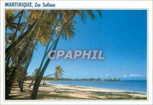 Moderne Karte Martinique Sainte Anne Plage des Salines