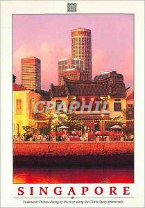Moderne Karte Singapore Traditional Chinese dining by the River along the Clarke Quay Promenade