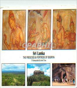 Moderne Karte Sri Lanka The Frescoes and Fortress of Sigiriya