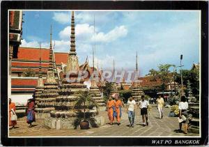Moderne Karte Thailand Inside wat Po Bangkok