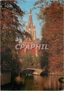 Moderne Karte Bruges