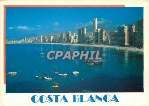 Moderne Karte Costa Blanca Benidorm (Playa de Levante)