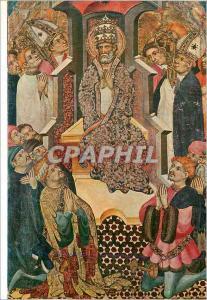 Moderne Karte Santa Maria d'Egara Terrassa Lluis Borrassa (1380 1424) Retable de Saint Pierre Detail