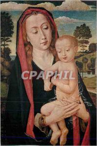 Moderne Karte Bruxelles Musees Royaux des Beaux Arts  Hugo van der Goes (1440 1482) Vierge et Enfant Jesus