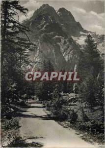 Moderne Karte Alpes du Dauphine le Pelvoux (3940m) et la Rouite d'Allefrode Vallouise Images de chez Nous
