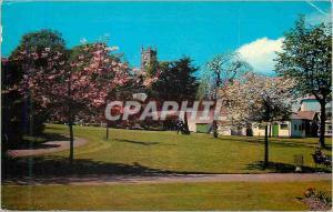 Moderne Karte Castle Gardens Dunoon