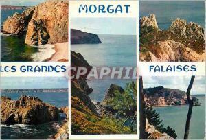 Moderne Karte Morgat (Finistere) les Grandes Falaises la Bretagne en Couleurs Chateau de Dinan les Falaises du