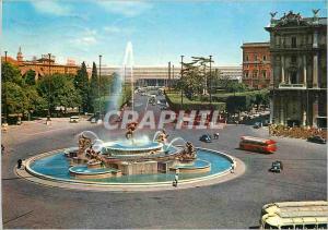 Moderne Karte Roma Plazza Della Republica e Stazione Termini