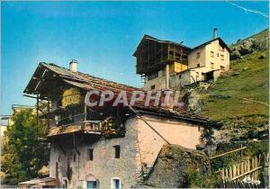 Ansichtskarte AK St Veran (Htes Alpes) alt 2040m la Commune la plus Haute d'Europe vue Pittoresque des Chalets
