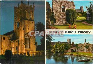 Moderne Karte Christ church Priory Dorset