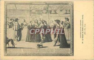 Ansichtskarte AK Corneille en Images La Galerie du Palais (Abraham Bosse)