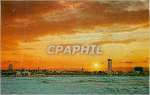 Moderne Karte Daytona Beach Florida One of the most beautiful timer of the day Both the clouds and the water c