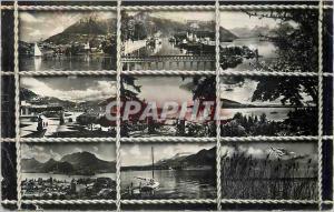 Moderne Karte Quelques vues Annecy